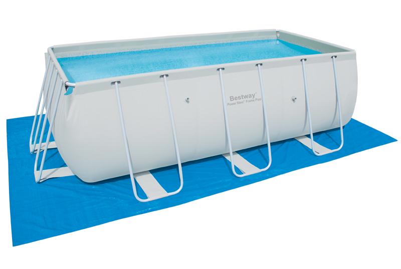 Plachta pod bazén 500 cm x 300 cm Bestw.