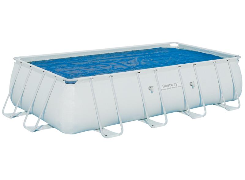 Bestway 58151 Solární plachta na obdélníkový bazén s konstrukcí 549 cm x 274 cm